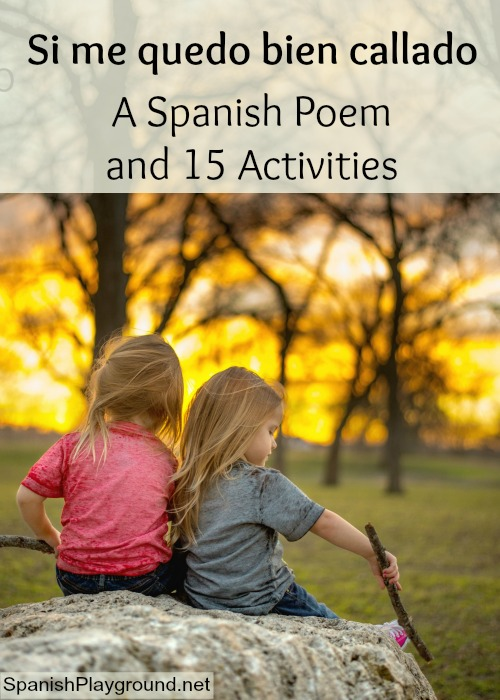 Kids practice natural world and five sense vocabulary with this pretty poem in Spanish.