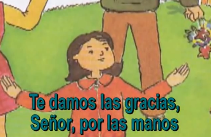 Thanksgiving song in Spanish for kids