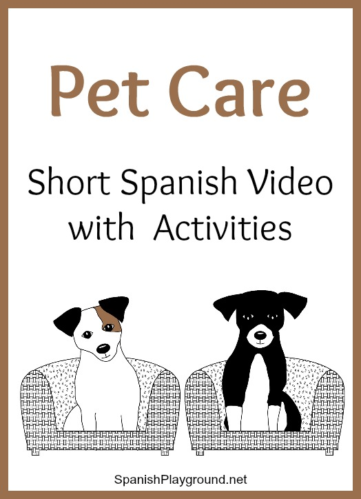 This Spanish video about pets is good listening practice for Spanish learners.