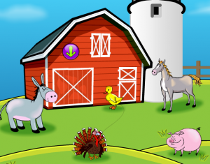 Spanish farm animals