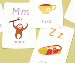 photo about Printable Spanish Flashcards identified as Printable Spanish Alphabet Playing cards in opposition to Mr. Printables