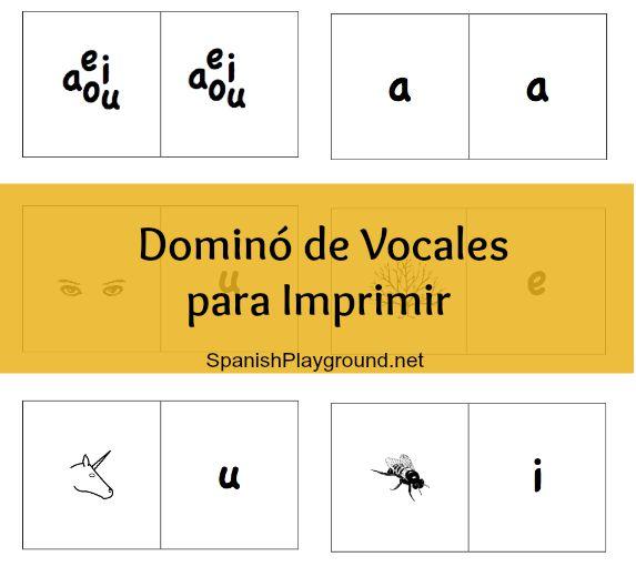 domino de vocales
