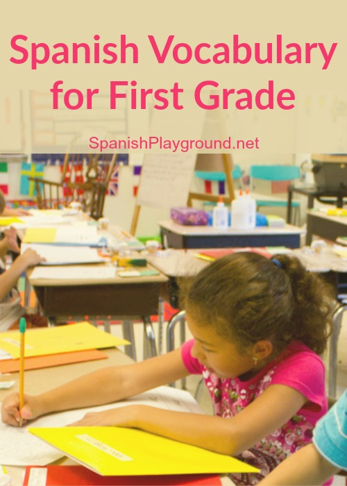 These powerpoint presentations use Spanish vocabulary for first grade.