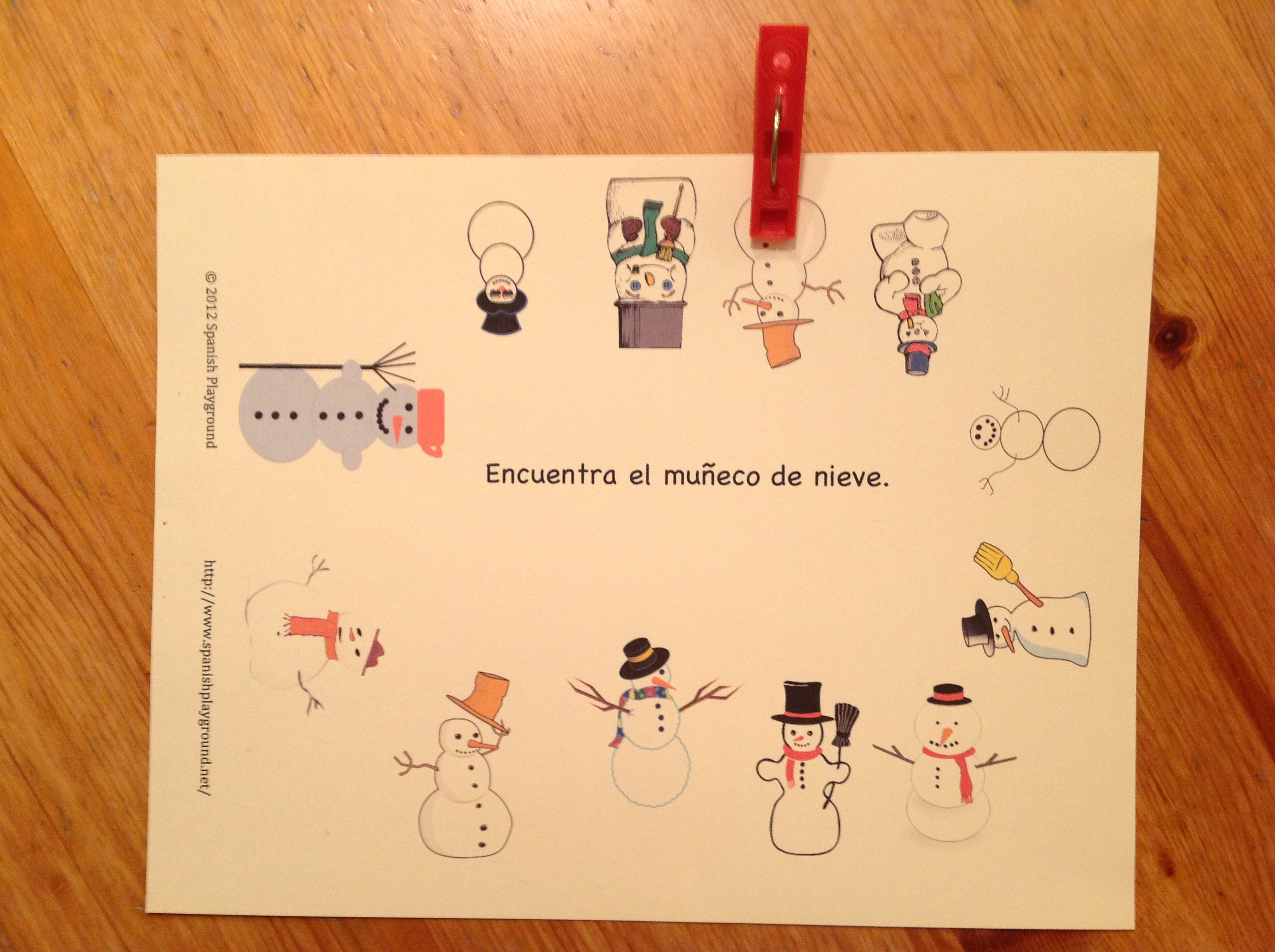 spanish christmas activities for kids Archives  Spanish Playground