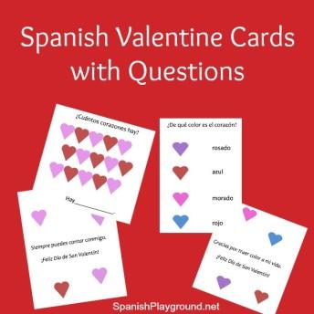 Schön Spanish Valentine Cards To Print