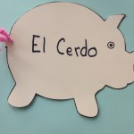 Shape Books to Make Mini Books for Kids Learning Spanish