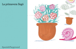 Spanish ebook la primavera llego