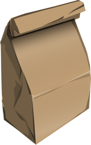 recycling paperbag