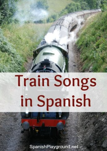 Spanish train songs are an excellent addition to a transportation theme.