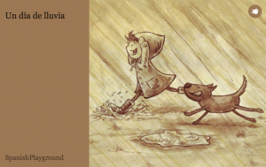 spanish ebooks for kids lluvia