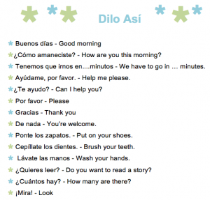 common spanish phrases