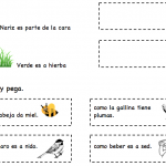 Printable Spanish Activity for Kids - Simple Analogies