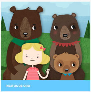 spanish story for kids ricitos de oro