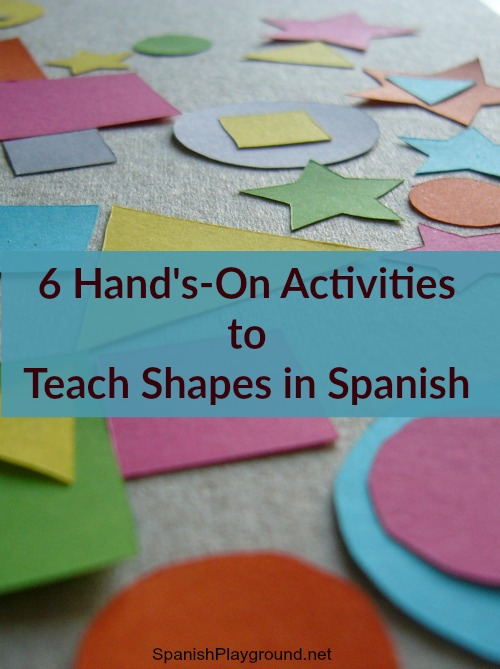 Children learn shapes in Spanish as they move and play.