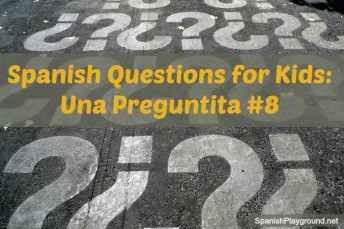 Spanish questions for kids to use in games and other activities.