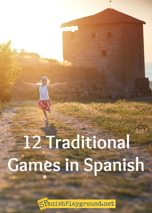 Children learn language and culture as they play these traditional games in Spanish.