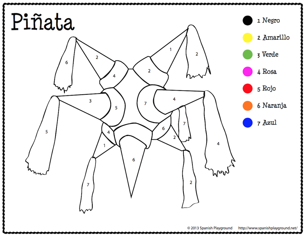 spanish coloring sheets archives spanish playground