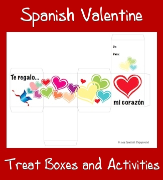 spanish valentine printable color