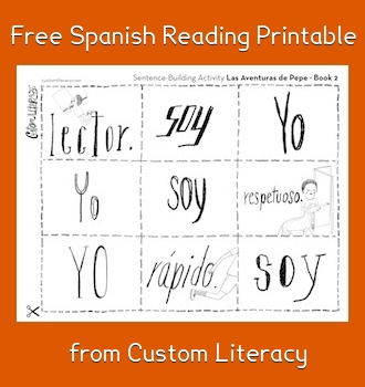 spanish reading printable book 2