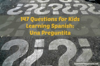 Spanish questions for games and activities.