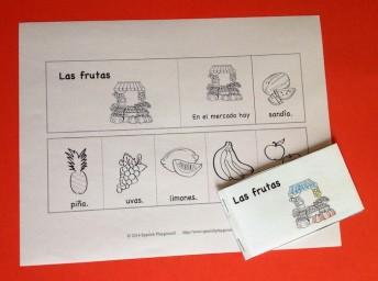 spanish flip book