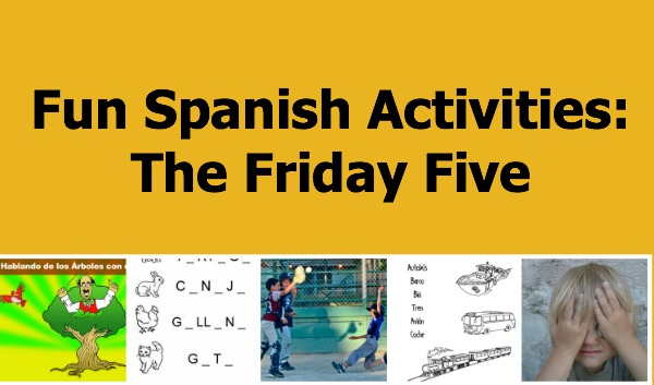 Fun spanish activites including songs, online games and printables..