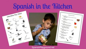 Cooking in Spanish teaches language and culture with hands-on fun.