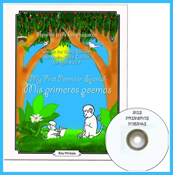 A collection of Spanish poems for kids from All Bilingual Press.