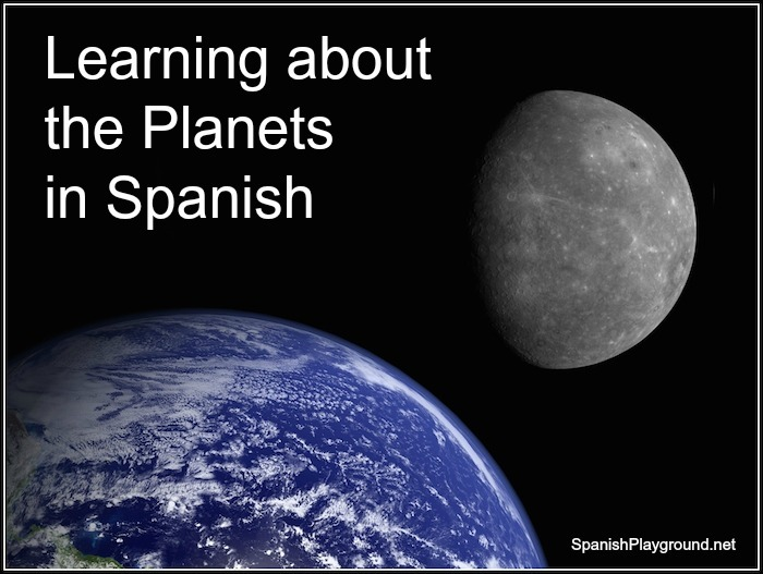 List of Planets in Spanish