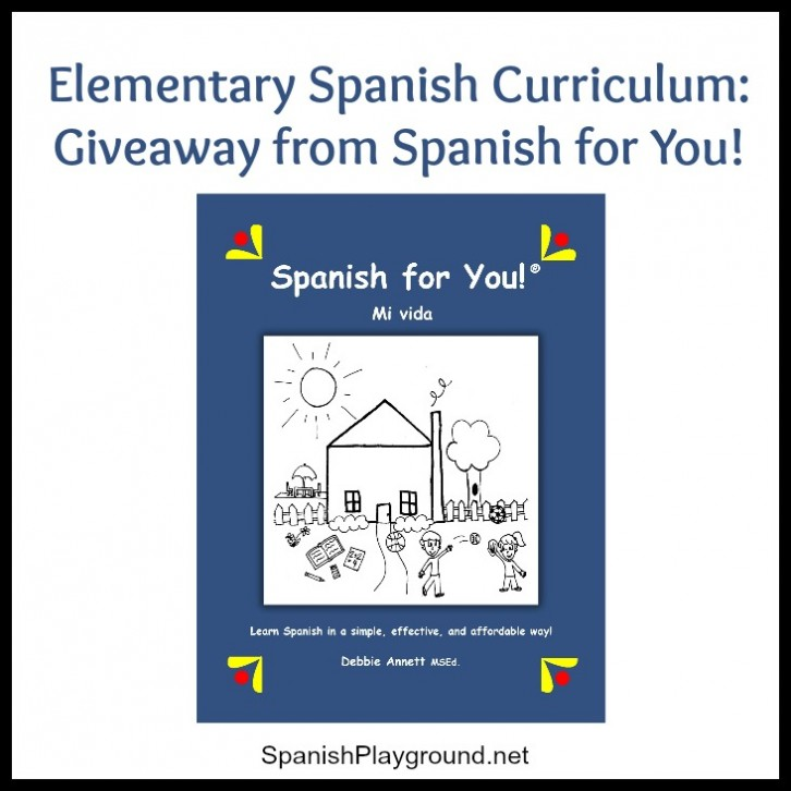 Elementary Spanish program from Spanish for you is an fun way for kids to learn.