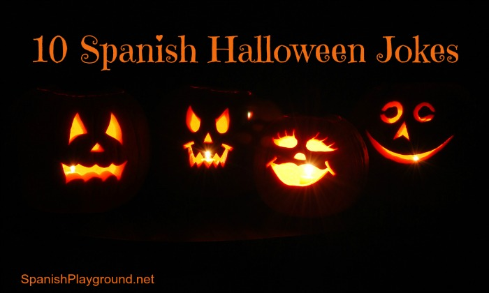 10 Spanish Halloween jokes for kids.