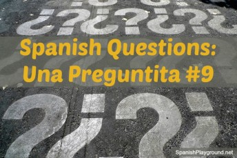 Spanish questions for kids to use in games and activities with language learners.