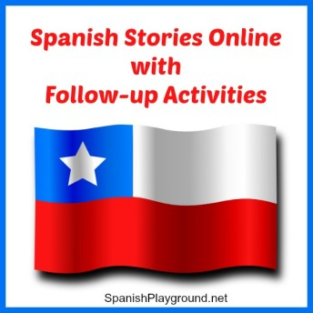 Spanish stories online created by Imactiva with a variety of reading activities.