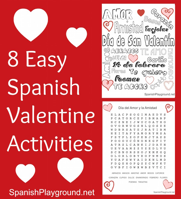 Valentines Day Archives  Spanish Playground