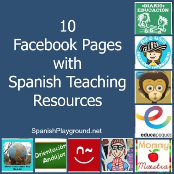 10 Facebook pages with resources for teaching Spanish