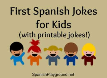 These first Spanish jokes use common vocabulary and are good listening practice.
