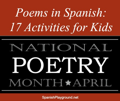 Poems in Spanish and activities for sharing them with children.