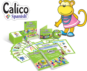 Homeschool Spanish curriculum from Calico Spanish is a fun and effective way to learn Spanish.