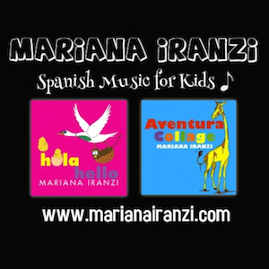 Spanish music for kids from Mariana Iranzi.