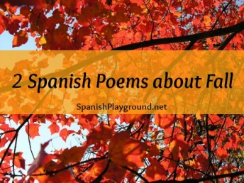 These Spanish poems about fall teach seasonal vocabulary.