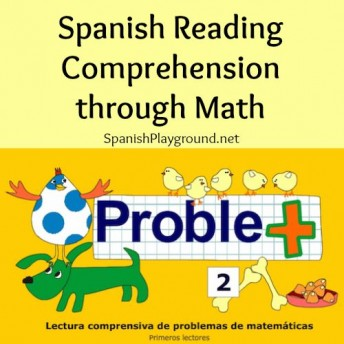Spanish reading comprehension actvities based on basic math skills for language learners.