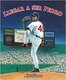 A Spanish book about baseball star Pedro Martinez.