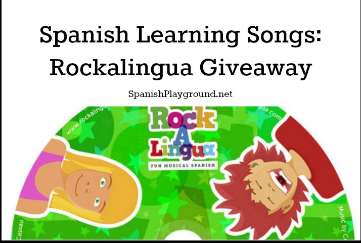 Rockalingua songs are designed to help kids learn Spanish.