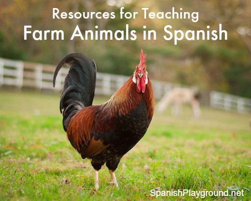 Use these resources to teach kids about farm animals in Spanish.