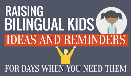Teaching kids Spanish is easier with these reminders for difficult days.