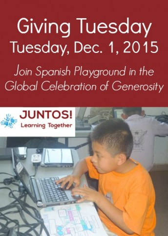 Giving Tuesday is an opportunity to support education in Mexico by donating to Juntos!