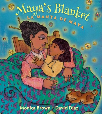 Maya's Blanket is an exceptional choice for kids learning Spanish.