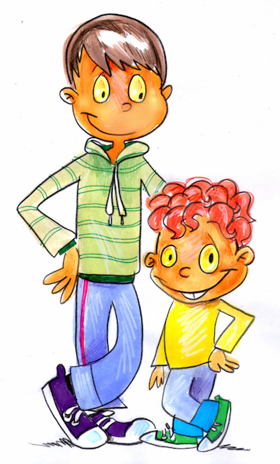 An illustration from The Wanting Monster by Mariana Llanos.