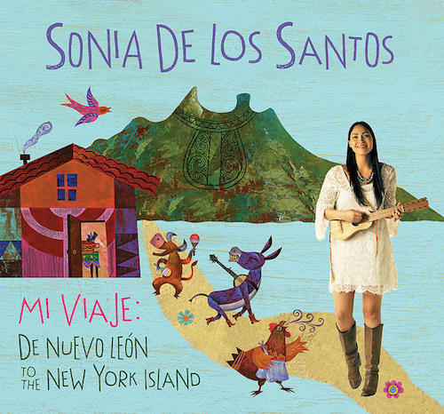 Sonia De Los Santos sings Spanish songs for children on her debut album.