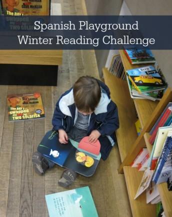 Spanish winter reading program keep kids reading over break.